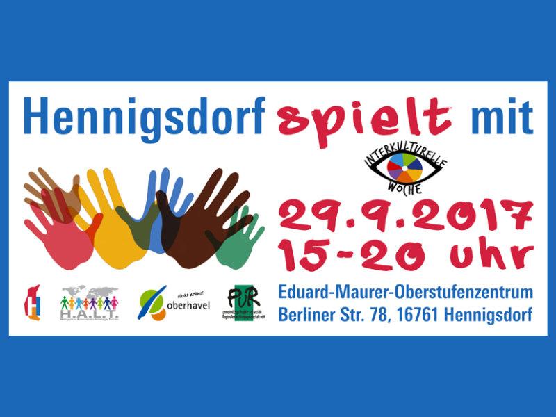 Hennigsdorf spielt mit